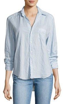 Frank And Eileen Eileen Long-Sleeve Button-Front Shirt, Light Blue