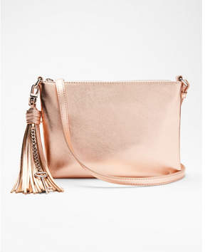 Express tassel key cross body bag