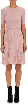 Valentino Women's Layered-Look Wool Dress