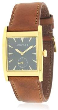 Movado Heritage Leather Watch 3650043