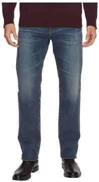 AG Adriano Goldschmied Matchbox Slim Straight Led Denim in 12 Years River Veil Men's Jeans