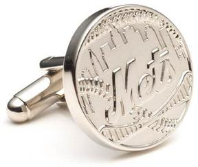 Ice Silver Edition NY Mets Cufflinks