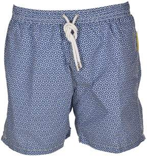 Hartford Printed Swim Shorts