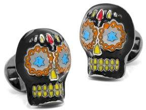 Cufflinks Inc. Cufflinks, Inc. Day of the Dead Skull Cuff Links