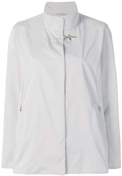 Fay high neck fitted jacket
