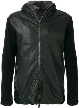 Giorgio Brato zipped fitted biker jacket