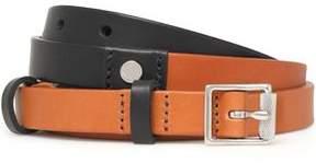 Rag & Bone Two-Tone Leather Belt