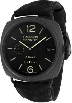 Panerai Radiomir 8 Days Black Ceramica Men's Watch