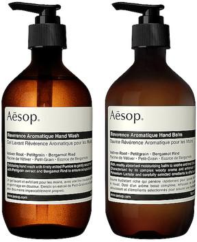 Aesop Reverence Duet.