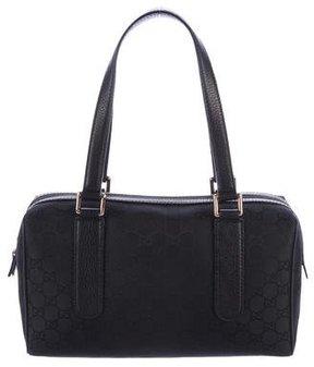 Gucci GG Nylon Handle Bag - BLACK - STYLE
