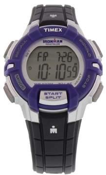 Timex Ironman 30 Lap Rugged Mid Size Watch Purple/Black/Silver