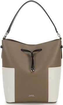 Lauren Ralph Lauren Debby Color-Block Drawstring Bag