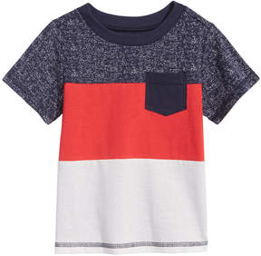 First Impressions Colorblocked Cotton T-Shirt, Baby Boys (0-24 months), Created for Macy's