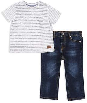7 For All Mankind Boys' Striped Tee & Jeans Set - Little Kid
