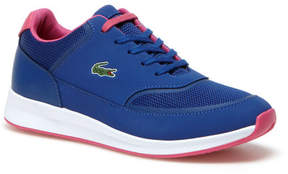 Lacoste Women's Chaumont Lace Bi-material Technical Canvas Sneakers