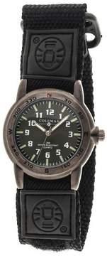 Coleman Men's Analog Sportwrap Watch - Black