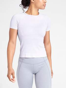 Athleta Oxygen Crop Tee