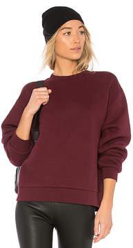 Alexander Wang Dense Fleece Pullover