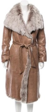 Basler Long Shearling Coat w/ Tags