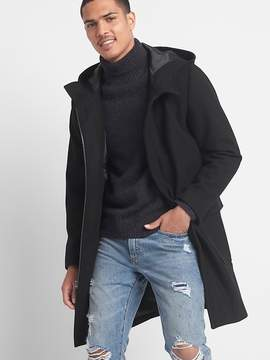 Gap Wool blend hooded coat