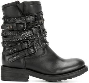 Ash Tempt buckle strap boots