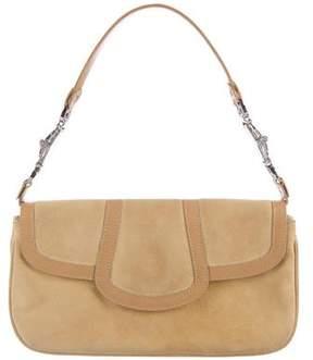 Giuseppe Zanotti Suede Handle Bag