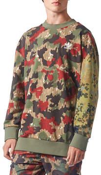 adidas Camouflage-Print Sweatshirt