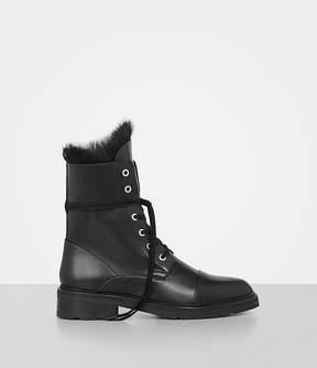 AllSaints Daria Shearling Boot