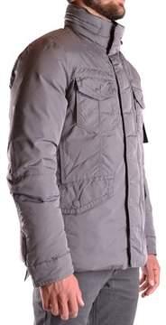 Peuterey Men's Grey Polyamide Outerwear Jacket.
