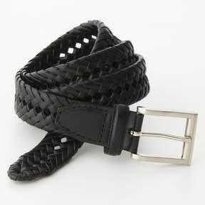 Croft & Barrow Basket Weave Faux-Leather Belt