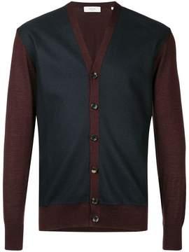 Cerruti colour-block cardigan