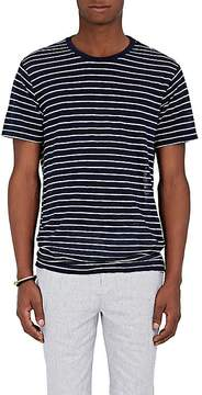 ATM Anthony Thomas Melillo Men's Striped Linen Oversized T-Shirt