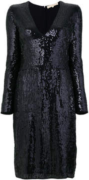 Vanessa Bruno sequined v-neck dress