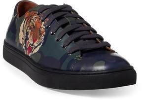 Ralph Lauren Jermain Tiger Calfskin Sneaker
