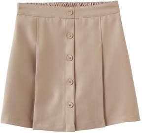 Chaps Girls 4-16 Button Front Skort