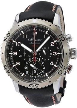 Breguet Transatlantique Type XXII Flyback Black Dial Men's Watch