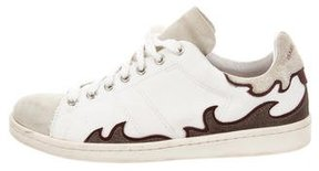 Etoile Isabel Marant Gilly Round-Toe Sneakers