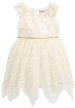 Nanette Lepore Infant Girl's Shimmer Lace Dress
