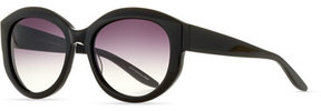 Barton Perreira Patchett Gradient Sunglasses, Black/Smolder