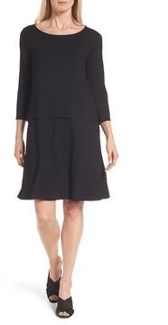 Eileen Fisher Women's Drop-Waist Jersey Dress