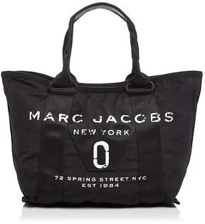 Marc Jacobs New Logo Small Tote - BLACK/BLACK - STYLE