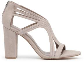 Reiss Karli Suede Cut-Out Shoes