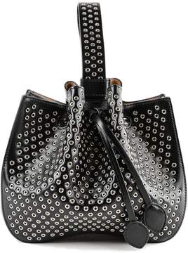 Alaia Eyelet Bucket Bag