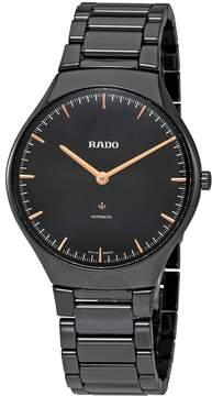 Rado True Thinline L Black Dial Automatic Men's Watch