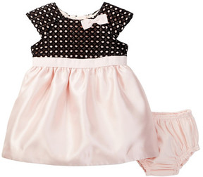 Kate Spade Guipure Lace Dress & Bloomer Set (Baby Girls)