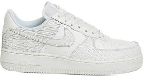 Nike Force 1 07 crack-effect leather trainers