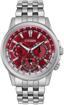 Citizen Eco-Drive Men's Calendrier Stainless Steel Bracelet Watch 44mm BU2021-51X, A Macy's Exclusive