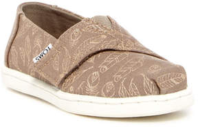 Toms Alpargata Foil Feathers Slip-On (Baby, Toddler, & Little Kid)