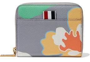 Thom Browne Printed Pebbled-Leather Wallet