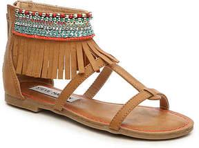 Steve Madden Girls Gardina Youth Gladiator Sandal